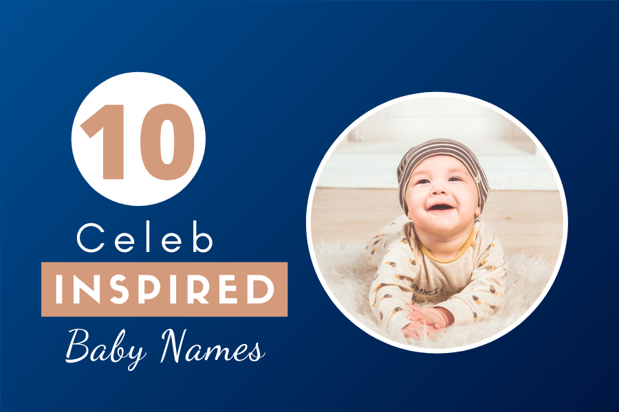 10 Adorable Baby Names of Popular Celebrities