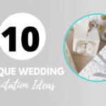 8 Not to So Common Wedding Invitation Ideas